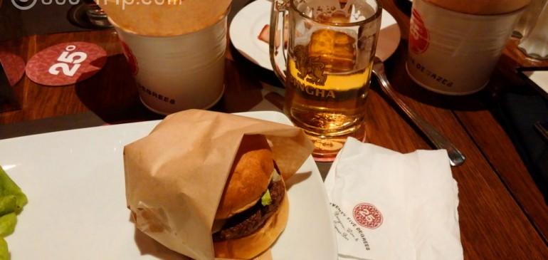 25 Degrees Burger อร่อยแบบจั๊งค์ๆ