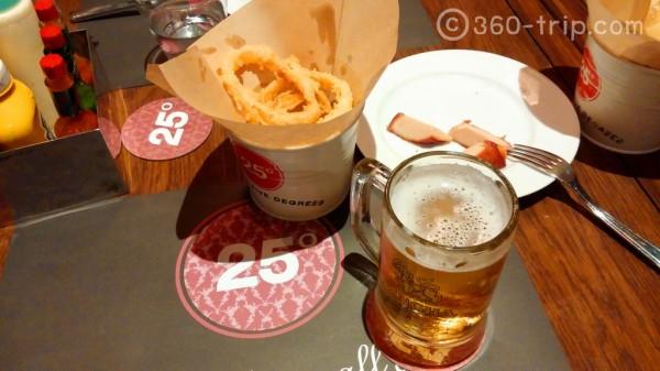 25 Degrees-snack-Singha-Beer