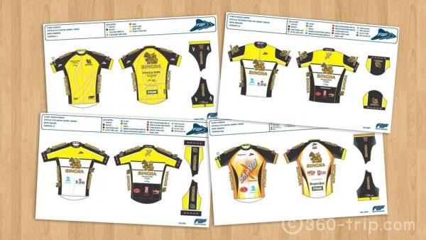 การออกแบบ-เสื้อปั่นจักรยาน