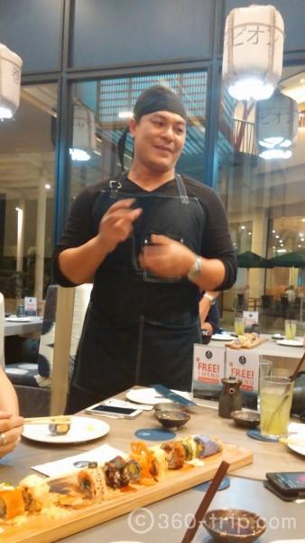 เชฟหนึ่ง-ร้าน Star Chefs-Maki Champion