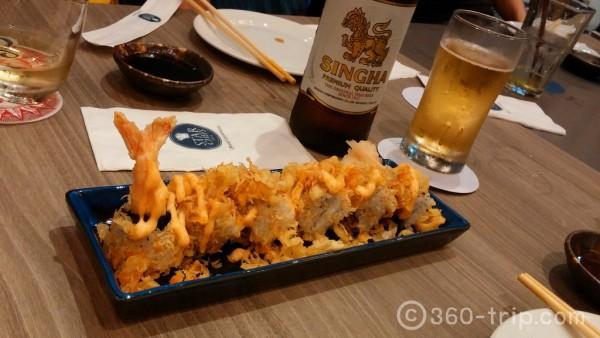 Ebi Crunchy-Maki คือ-มากิไส้กุ้งเทมปุระ