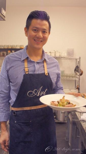 เชฟอาร์ต-Chef's Table