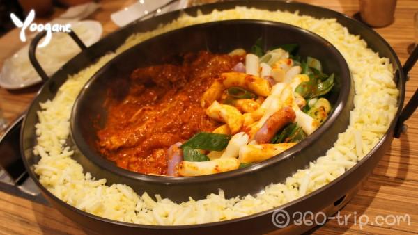 Chicken Galbi original no.1 from Korea