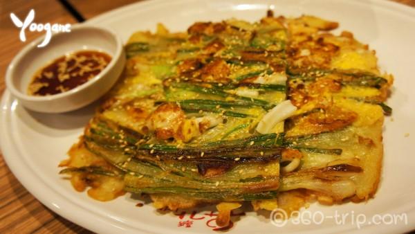 Korean Style Seafood pancake-Yoogane