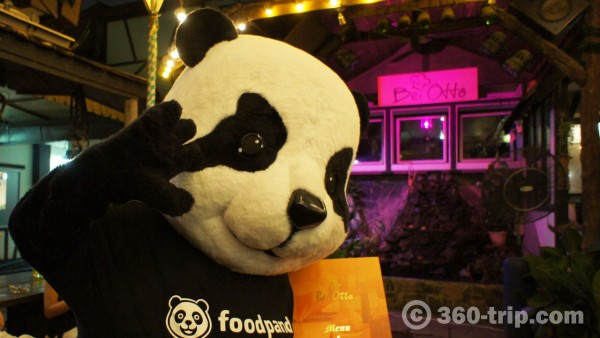 foodpanda-Bei Otto-food ordering-food delivery