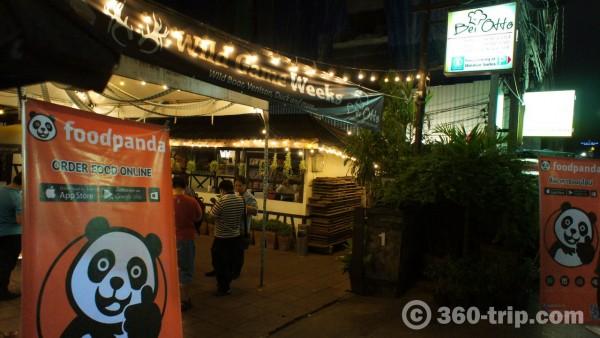 foodpanda-Bei Otto-restaurant
