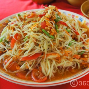 ส้มตำ,River Kwai Village Hotel