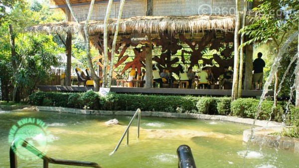 hot spring fish spa,River Kwai Village Hotel