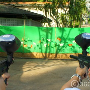 paintball,River Kwai Village Hotel