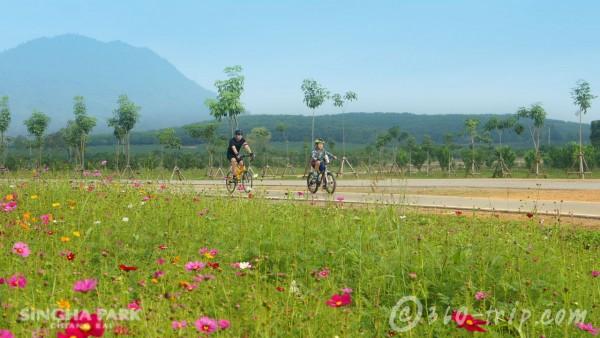 สิงห์ปาร์ค เชียงราย-ปั่นจักรยาน